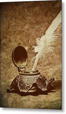 Inkwell II Metal Print by Tom Mc Nemar