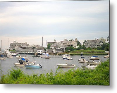 Metal Print featuring the photograph Inlet At Harwich Cape Cod Maine by Suzanne Powers