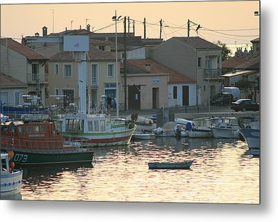 Inlet Carol South France Metal Print