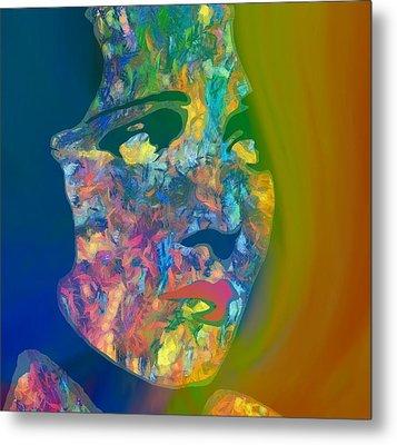 Inner Beauty Pop Art Metal Print