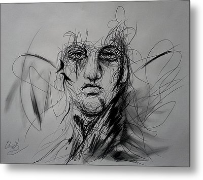 Inner Demons Metal Print by Christopher Kyle