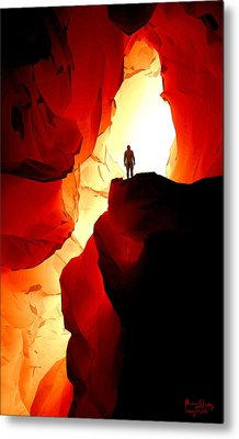 Inner Light Metal Print by Matt Lindley