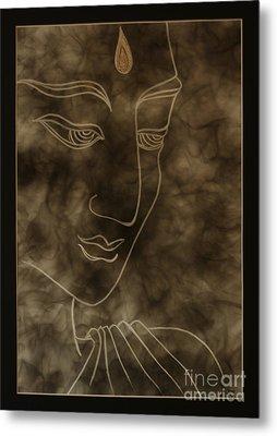 Inner Self Peace Metal Print by Aixa Rios