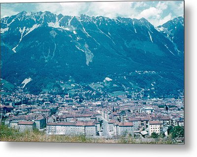 Innsbruck Austria 6 1962 Metal Print by Cumberland Warden