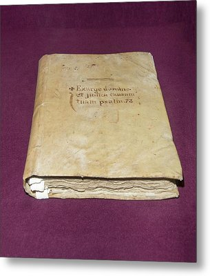Inquisition Book Of Judgements Metal Print