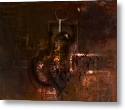 Insanity Metal Print by Kim Gauge