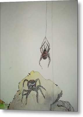 Insects That Crawl And Fly Album Metal Print by Debbi Saccomanno Chan