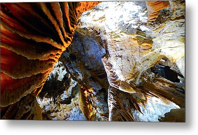 Inside Earth I Metal Print by Sandro Rossi