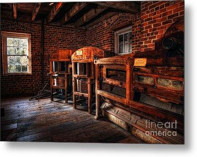 Inside Kerr Mill I - North Carolina Metal Print by Dan Carmichael