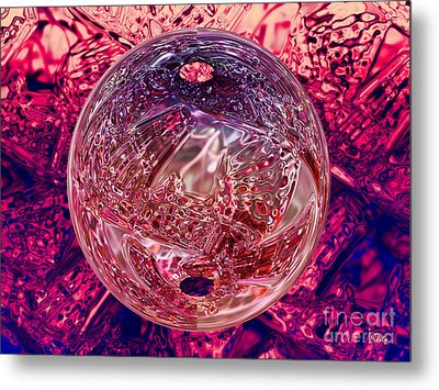 Inside Out Metal Print by Mo T