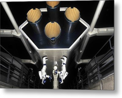 Inside Space Mountain Metal Print by David Lee Thompson