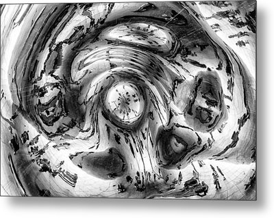 Inside The Bean Metal Print