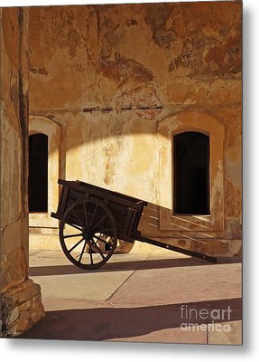 Inside The Fortress Metal Print by Deborah Smith