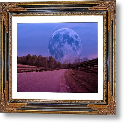 Inspiration In The Night Metal Print by Betsy Knapp