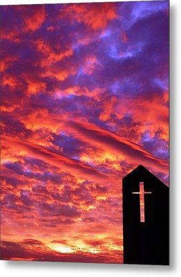 Inspiration Metal Print by Mike Ste Marie