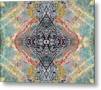 Inspired Action Metal Print