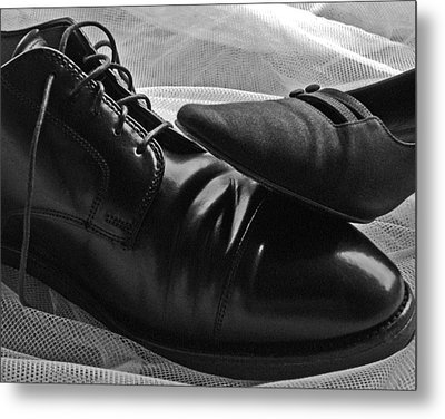 Metal Print featuring the photograph Instep by Lisa Phillips