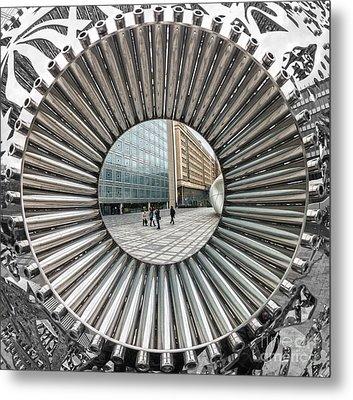 Institut Du Monde Arabe - Paris Metal Print