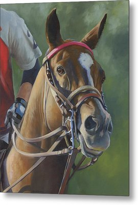 Metal Print featuring the painting Intensity by Alecia Underhill