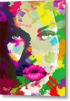 Intensity Metal Print by Anthony Mwangi
