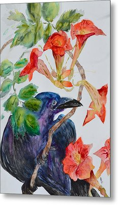 Intent Metal Print by Beverley Harper Tinsley
