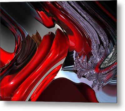 Interactions Metal Print by Gerlinde Keating - Galleria GK Keating Associates Inc