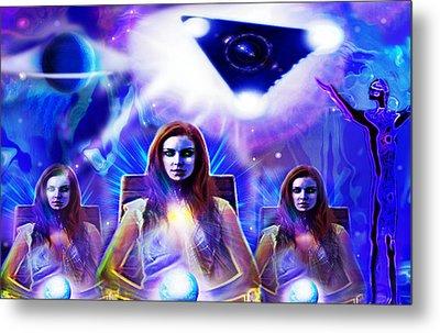 Interdimensional Guardians Metal Print