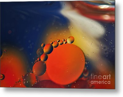 Intergalactic Space 2 Metal Print by Kaye Menner