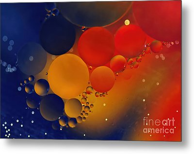 Intergalactic Space 3 Metal Print by Kaye Menner