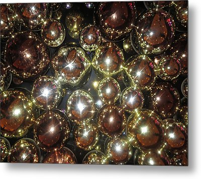 Metal Print featuring the photograph Interior Decorations Casino Resorts Hotels Las Vegas by Navin Joshi