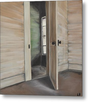 Interior Doorway Metal Print