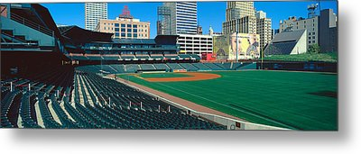 Interior Of Autozone Baseball Park Metal Print by Panoramic Images