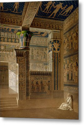Interior View Of The West Temple Metal Print