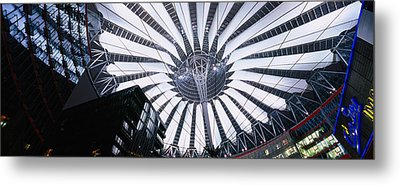 Interiors Of A Shopping Mall, Sony Metal Print by Panoramic Images