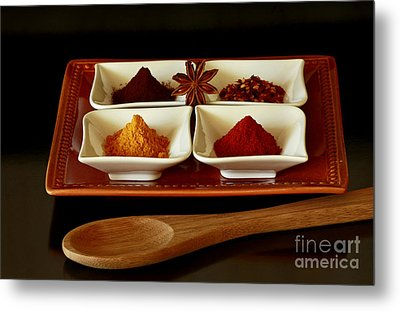 International Flair  Spice It Up Metal Print by Inspired Nature Photography Fine Art Photography