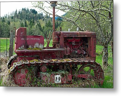 International Harvester Metal Print