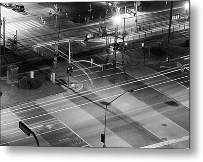Metal Print featuring the photograph Intersection by Heidi Smith