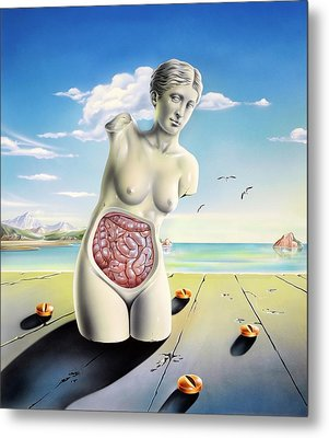 Intestinal Disorders Metal Print by John Bavosi
