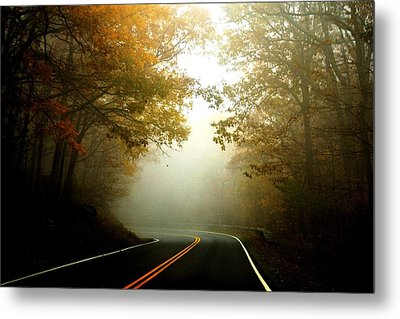 Into A Cloud Metal Print