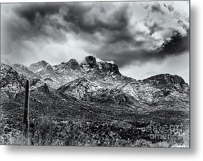 Metal Print featuring the photograph Into Clouds by Mark Myhaver