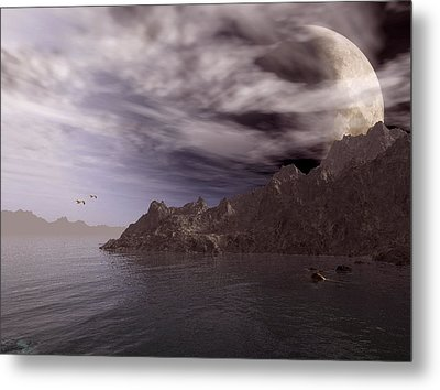 Into Other Worlds Metal Print by Julie Grace