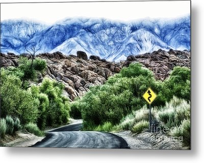 Into The Alabamas Metal Print