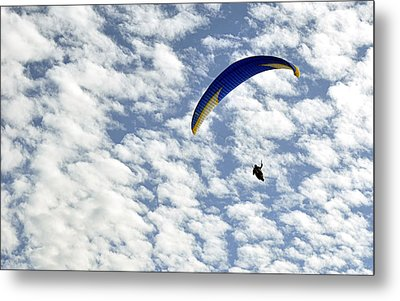 Metal Print featuring the photograph Into The Blue Yonder by AJ  Schibig