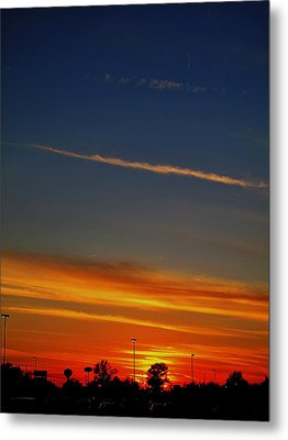 Into The Bluest Sky Metal Print