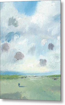 Into The Distance Part Seven Metal Print by Alan Daysh