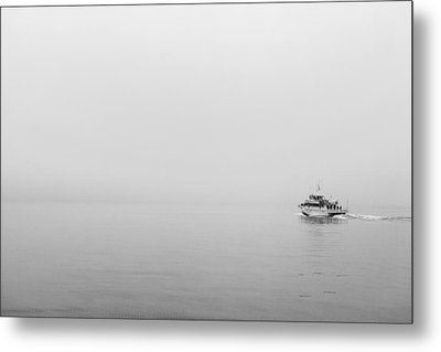 Into The Fog Metal Print by Jon Glaser