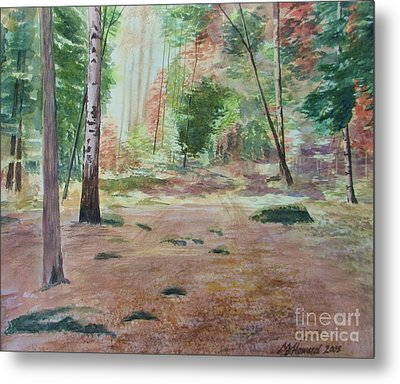 Into The Forest Metal Print by Martin Howard