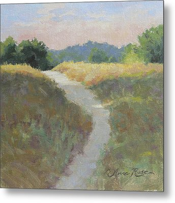 Into The Morning Light Metal Print by Anna Rose Bain