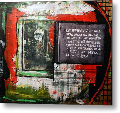 Into The Old Metal Print by Sanne Rosenmay