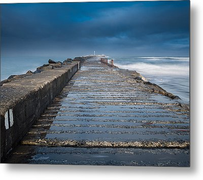 Into The Storm Metal Print by Greg Nyquist